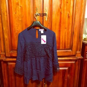 Boho blouse new with tag